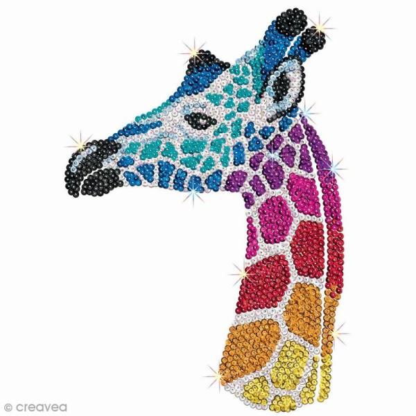Sequin Art - Safari - Tableau 25 x 34 cm - 3 pcs - Photo n°3