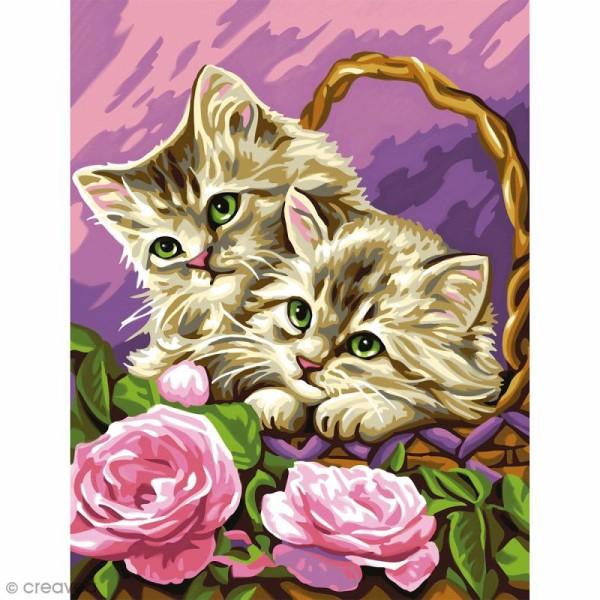 Peinture au numéro - Chatons boudeurs - Photo n°2