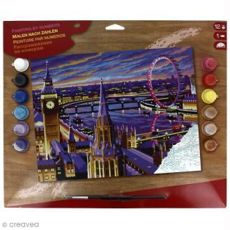 Peinture au numéro - Londres
