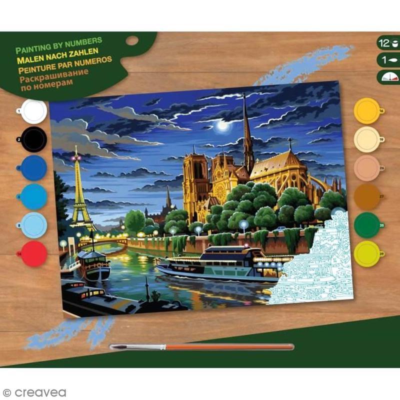 Peinture au numéro - Paris - Photo n°1