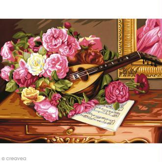 Peinture au numéro - Bouquet musical