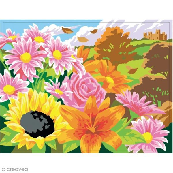 Coffret peinture au numéro - Les 4 saisons - 4 peintures - Photo n°3
