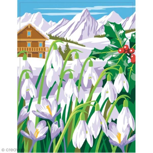 Coffret peinture au numéro - Les 4 saisons - 4 peintures - Photo n°4