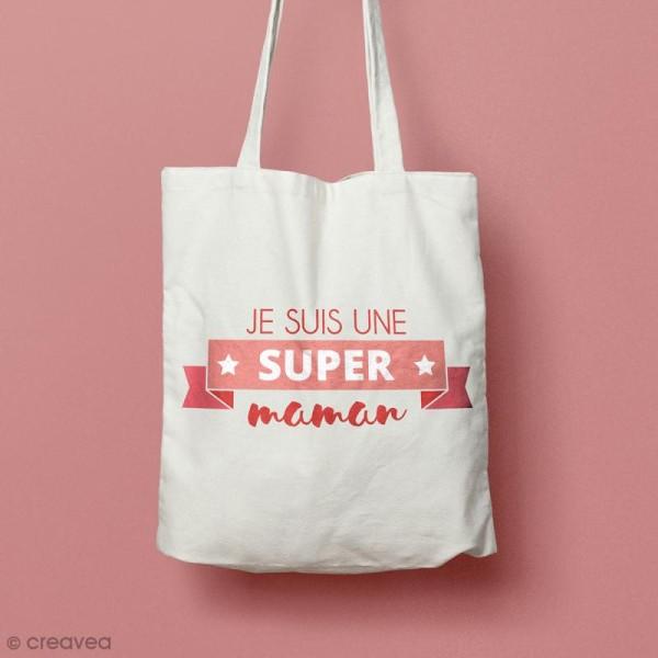 Pochoir multiusage - Je suis une super maman - 1 planche 21 x 15,5 cm - Photo n°2