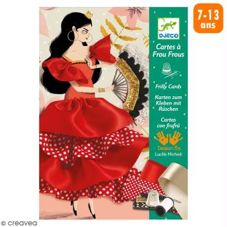Cartes à Frou Frous - Flamenco - 3 créations