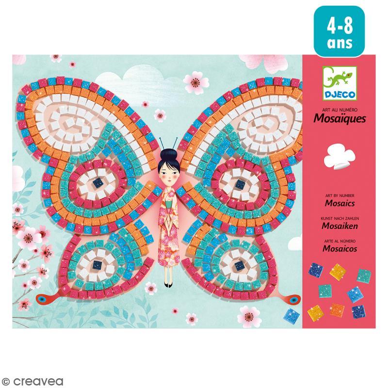 Kit Mosaïques Papillons - 2 créations - Photo n°1