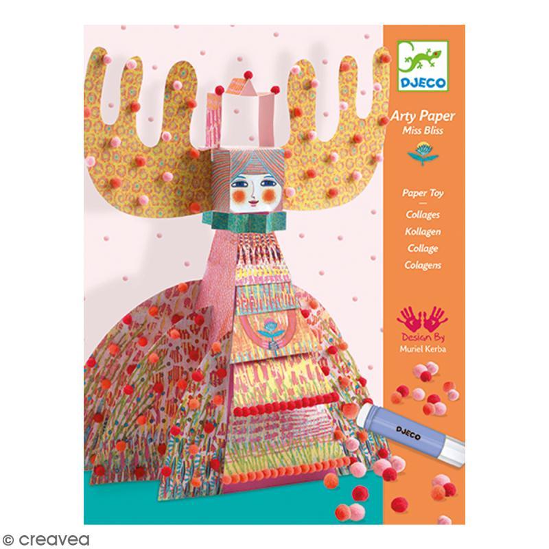 Coffret Arty Paper Pompons - Miss Bliss - Photo n°1