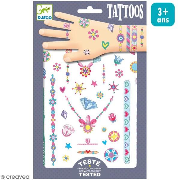 Tatouages temporaires Les bijoux de Jenni - 1 planche - Photo n°1