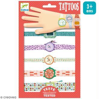 Tatouages temporaires - Les montres de Wendy - 2 planches