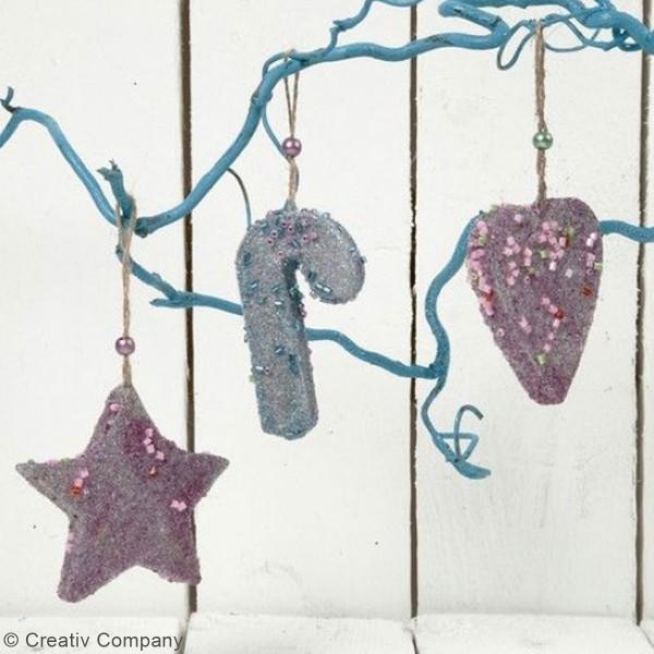 Perles de rocaille cylindriques - Différents coloris - 1,7 mm - 25 gr - Photo n°2