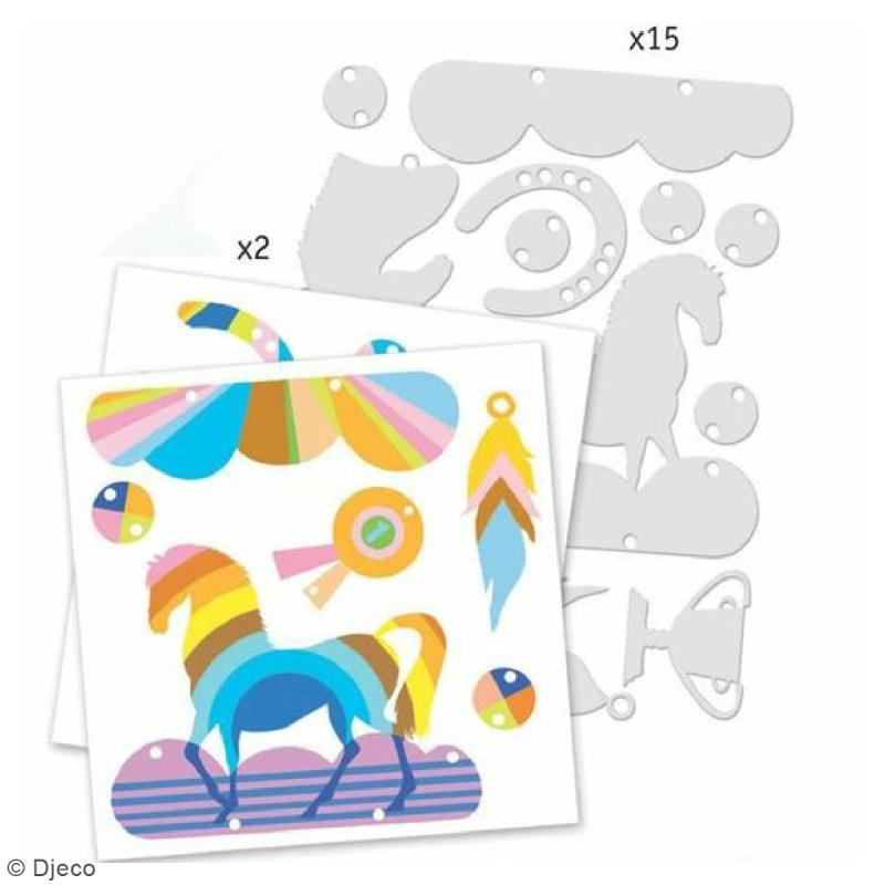 Kit Plastique magique - Cheval magique - Photo n°2