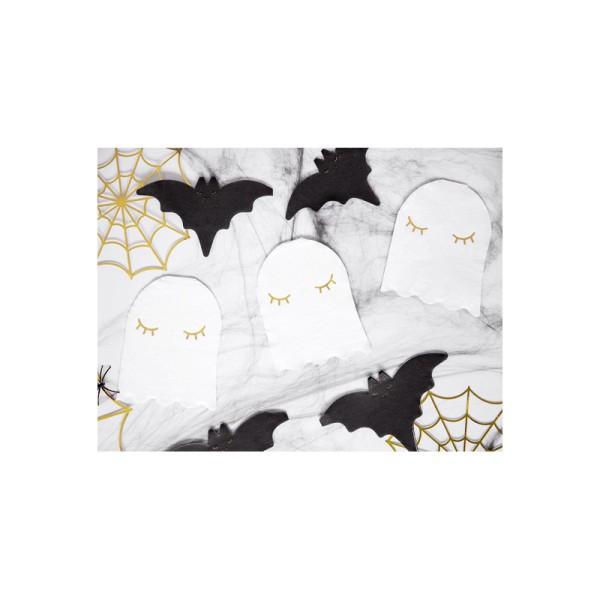 Confettis toiles d'araignées gold x3 - Photo n°4