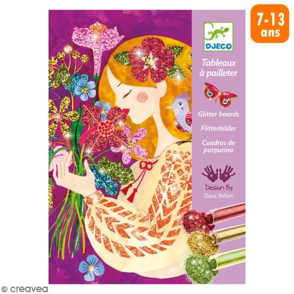 Tableaux à pailleter - Le parfum des fleurs - Photo n°1