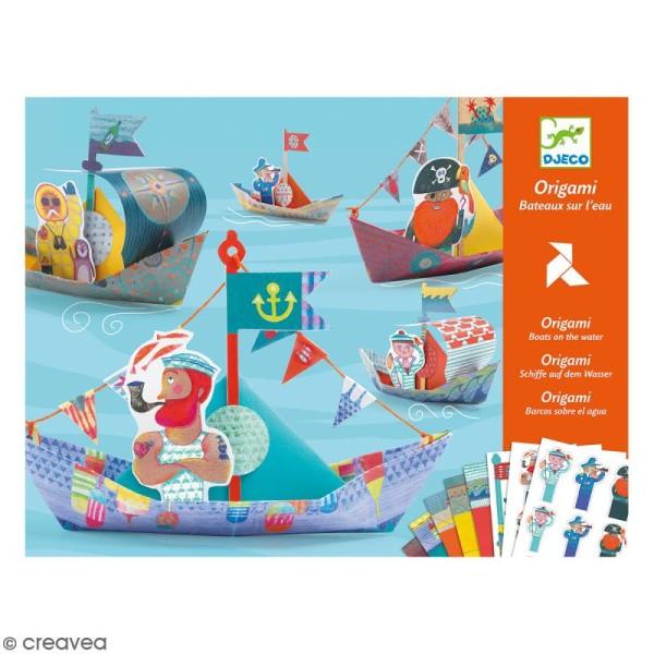 Djeco Origami - Bateaux sur l'eau - Photo n°1
