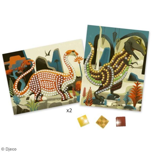 Djeco Art au numéro - Mosaïque - Dinosaures - Photo n°2