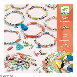 Djeco Perles de papier - Bracelets de printemps