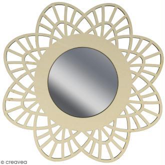 Miroir ajouré à décorer - Dentelle - 28 cm