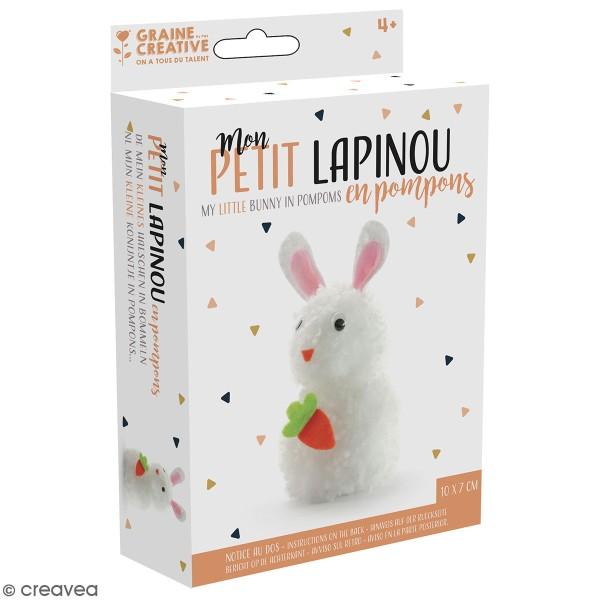 Kit Pompons - Lapinou - 13 pcs - Photo n°1