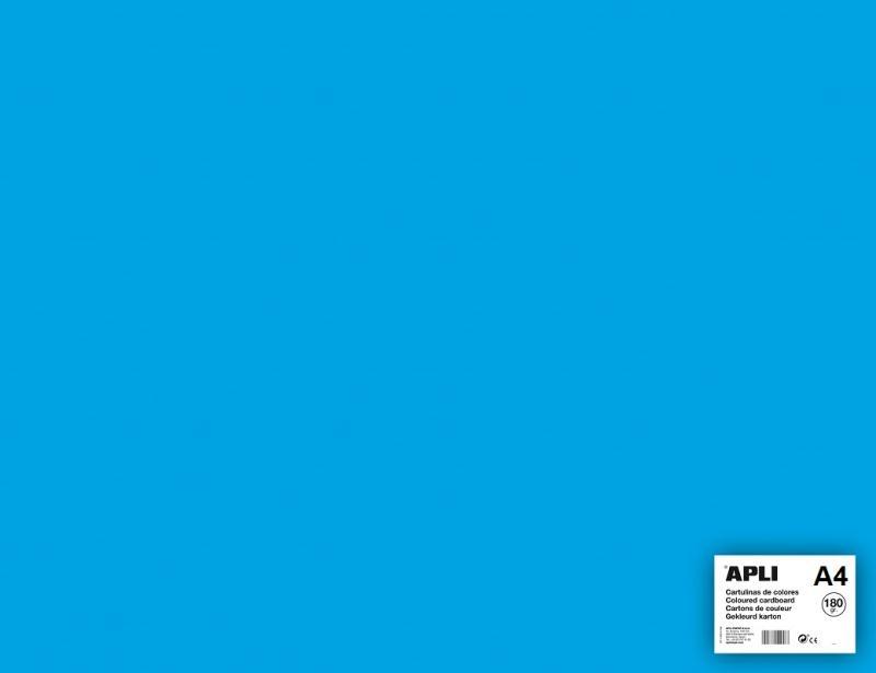 carton couleur bleu ciel a4 apli 5 feuilles 180 gr format a4 creavea. Black Bedroom Furniture Sets. Home Design Ideas