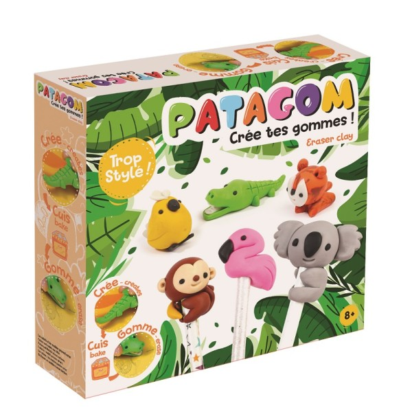 Coffret Patagom Animaux Sauvages Créer Vos Propres Gommes - Photo n°1