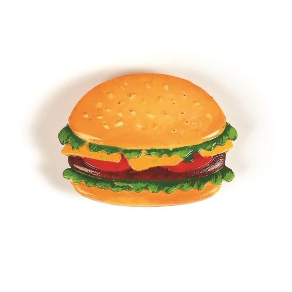 Moule En Silicone Junk Food 200x130mm - Photo n°3