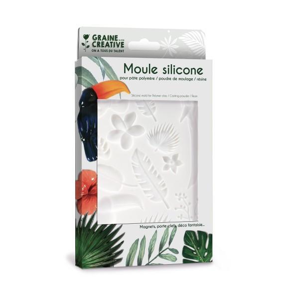 Moule En Silicone 200x130mm Tropical - Photo n°1