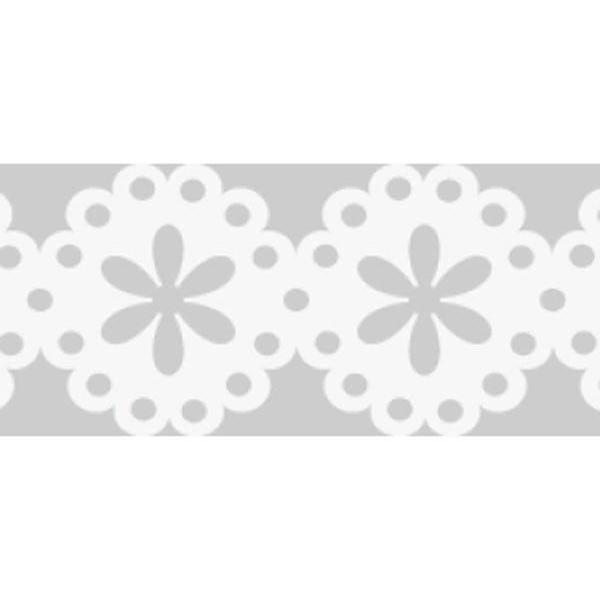 Auto-adhésif Papier Ruban de Dentelle N ° 2 - Blanc 1cmx2m, Mariée en Dentelle, Bordure de Garniture - Photo n°1