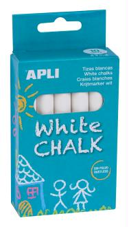Boîte de 10 craies blanches APLI