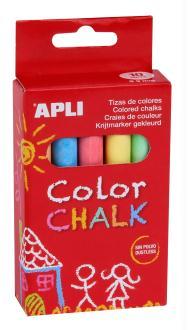 Boîte de 10 craies de couleurs APLI