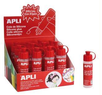 Colle silicone APLI 25 ml - vendu à l'unité