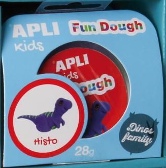 Kit pâte à modeler Fun Dough Histo - APLI Kids - 28 Gr
