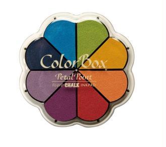Encreur Petal Point Chalk Primary - ColorBox - 12 cm