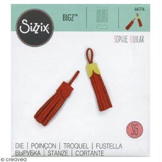 Matrice Sizzix Bigz - Pompon - 2 pcs