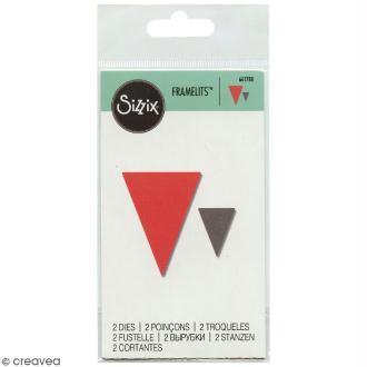 Matrice Sizzix Framelits - Triangles - 2 pcs