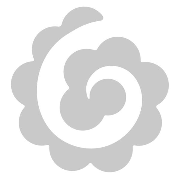 Matrice Sizzix Thinlits - Fleur en papier cranté - 1 pce - Photo n°2