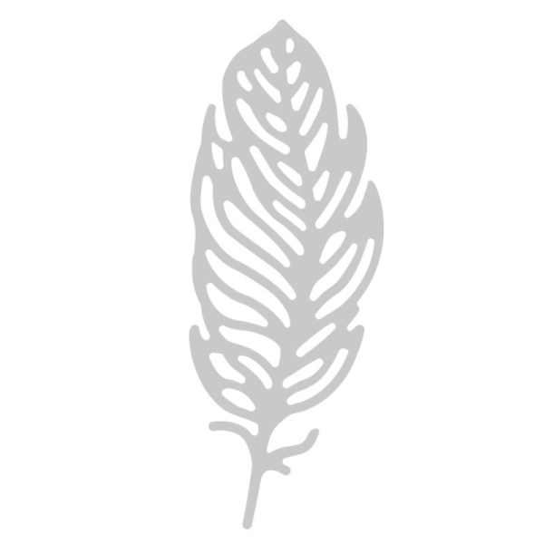 Matrice Sizzix Thinlits - Petite plume - 1 pce - Photo n°2