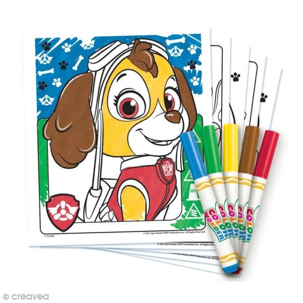Kit Color Wonder coloriage magique Crayola - Pat' Patrouille - Photo n°2