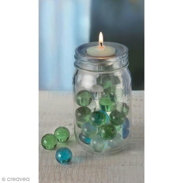 Insert bougie à réchaud 7 cm pour Mason Jar - Photo n°2