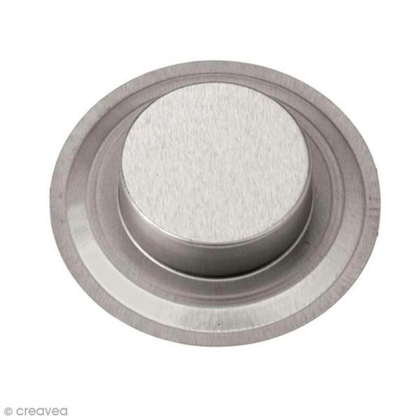 Insert bougie à réchaud 7 cm pour Mason Jar - Photo n°3