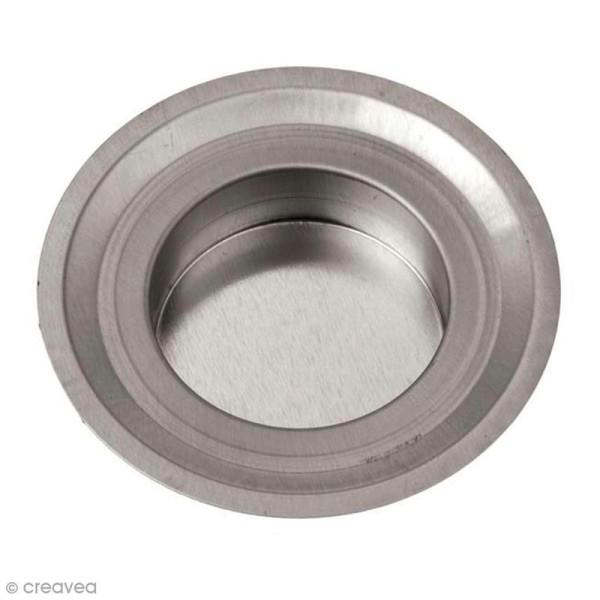 Insert bougie à réchaud 7 cm pour Mason Jar - Photo n°1