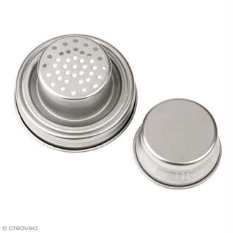 Couvercle pour Mason Jar - Cocktail Shaker - 7 cm