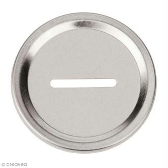 Insert tirelire 6,8 cm pour Mason Jar - 2 pcs
