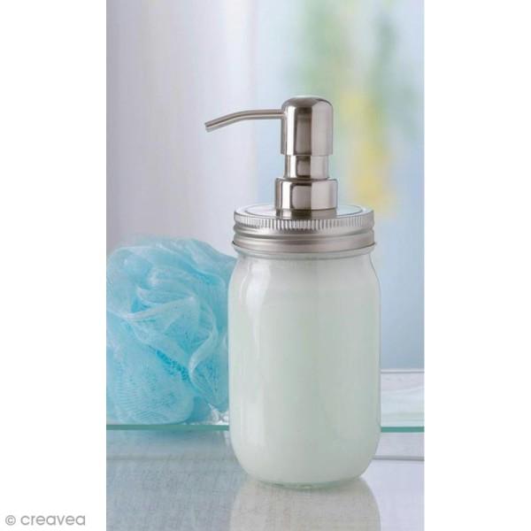 Couvercle pour Mason Jar - Distributeur de savon - 7 cm - Photo n°2
