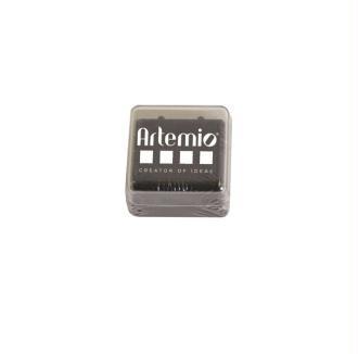 Encreur à séchage lent Noir - Artemio - 3 x 3 cm