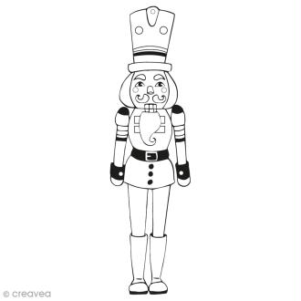 Tampon Aladine - Casse noisettes - 3 x 9 cm