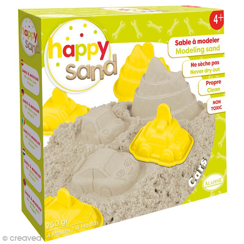 Kit Happy Sand 250 g - Voitures - Photo n°1