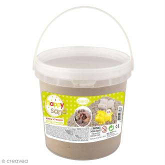 Kit Happy Sand - Seau 900 g et moules Animaux