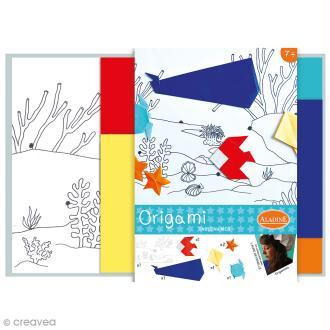 Kit Origami - Tableau Mer