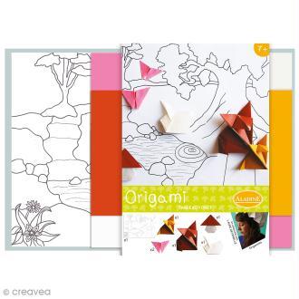 Kit Origami - Tableau Forêt