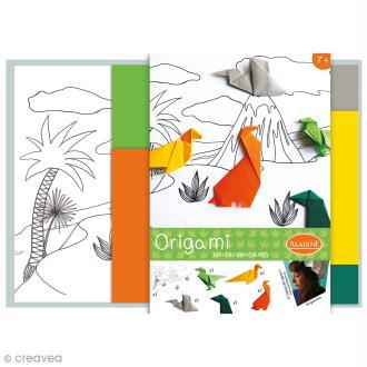 Kit Origami - Tableau dinosaures